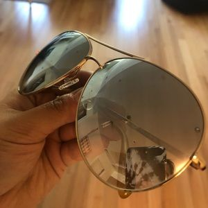 Sayer 63 mm aviators by Oliver peoples